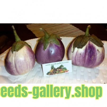 σπόροι Μελιτζάνα - Rosa bianca ή Romanesca
