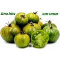 Semillas De Tomate Verde Zebra