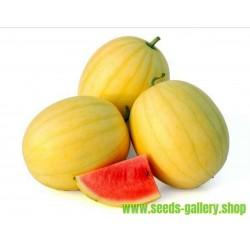 Κίτρινο καρπούζι του δέρματος σπόρους
