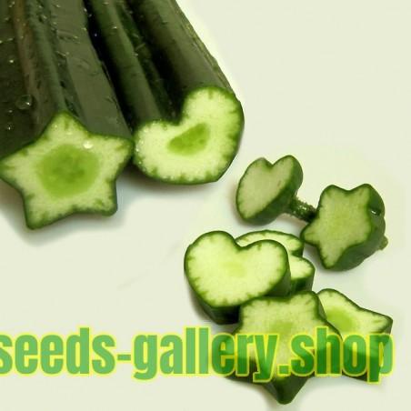 Molde de Frutas y Verduras, Forma de Estrella, Cambio de Forma de Frutas