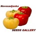 Sementes de Pimenta doce ''Novosadjanka''
