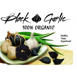 Black Garlic Cloves - Black Gold (Allium roseum)