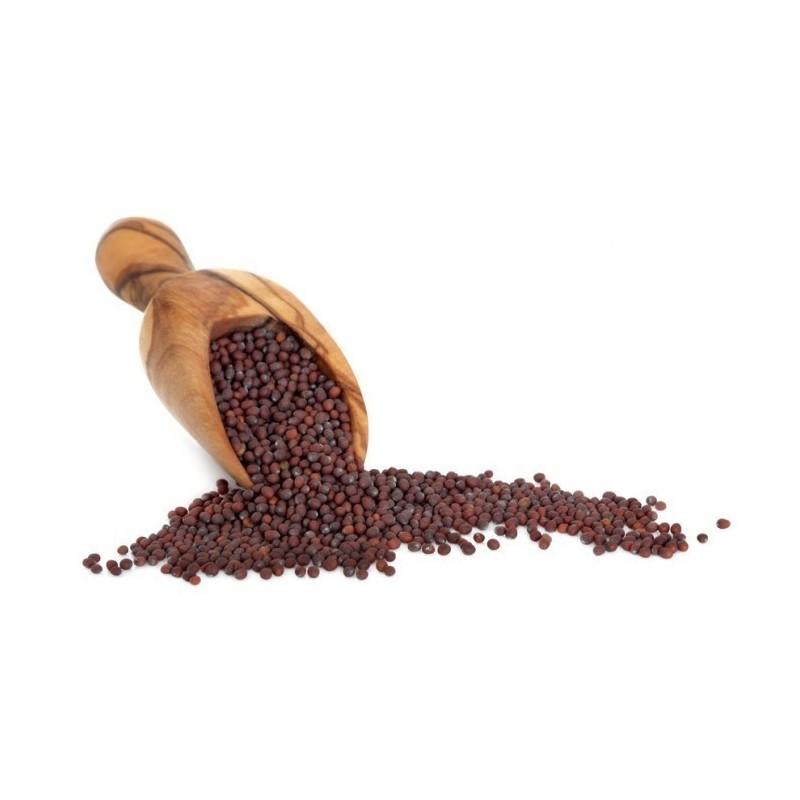 Schwarze / braune Senfgewürze - ungemahlen