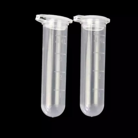 Transparent Clear Test Tube With lid 5 ml