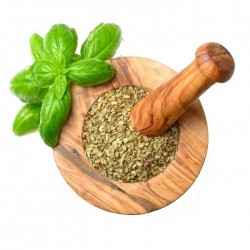 Dried basil - spice and medicine