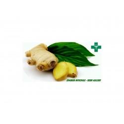 Ginger krydda - malet