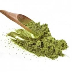 Spezie secche di foglie di ulivo - tritate