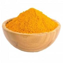 Mezcla de curry amarillo y plátano - especia que destruye el cáncer