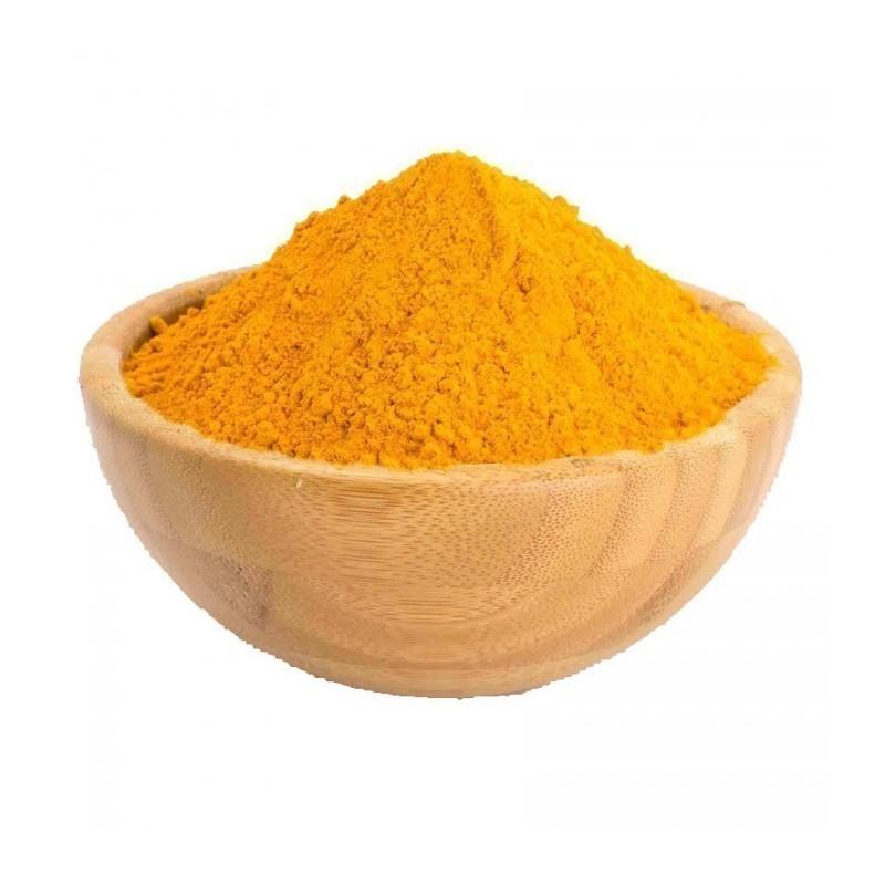 Gelbe Curry und Bananenmischung - Gewürz das Krebs zerstört