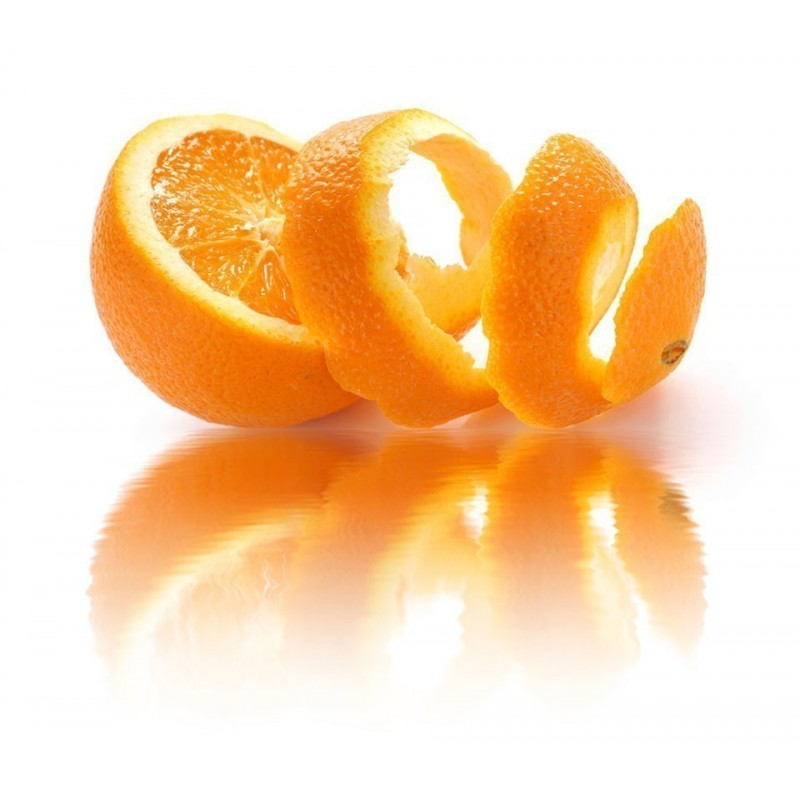 Dried orange peel - spice