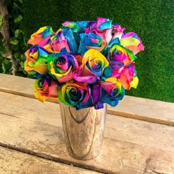 Semillas Color De Rosa Del Arco Iris Rainbow 2.5 - 2