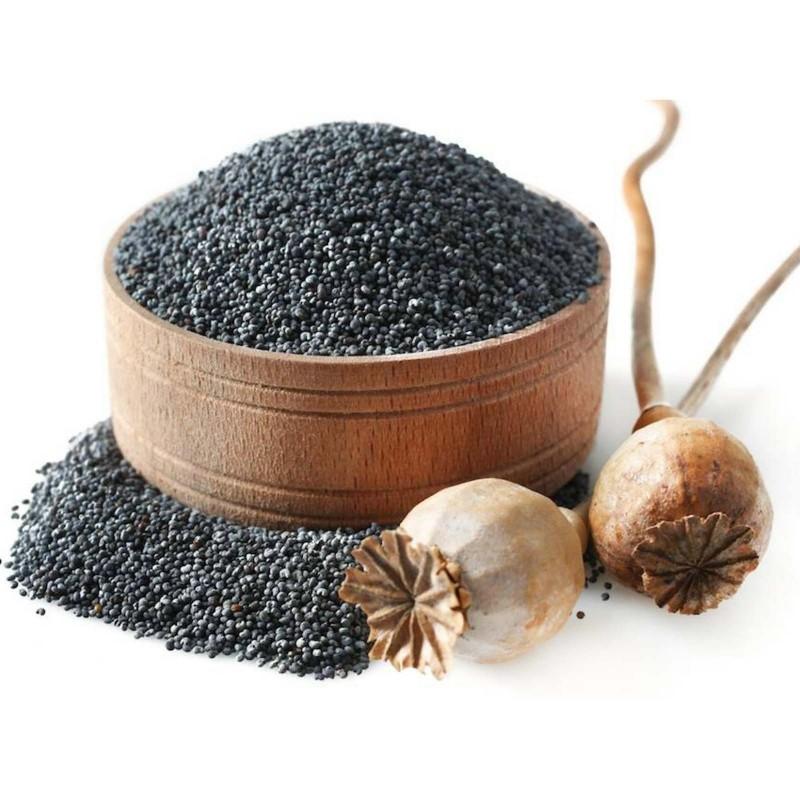 1000 bis 5000 Samen Echter Schlafmohn (Papaver somniferum) 2.5 - 1