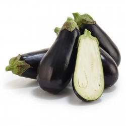 Organic Black Beauty Eggplant Seeds 1.8 - 1