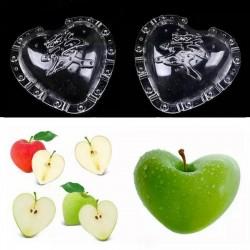 Molde de frutas en forma de Corazón, pera, melón 15 - 3