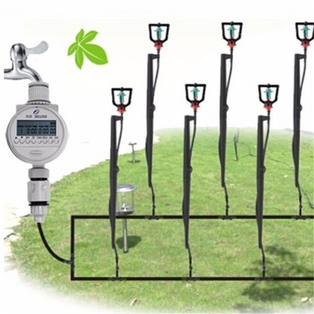 Watering Timer Solar Power Automatic Irrigation Watering Timer Programmable LCD Display Hose Timers Irrigation System 39.95 - 8