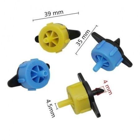 2L drip irrigation kit, 4-way Diversion 22 - 6