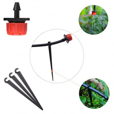 Drip Irrigation System, Automatic Watering with Adjustable Drippers 19.5 - 3