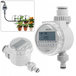 Watering Timer Solar Power Automatic Irrigation Watering Timer Programmable LCD Display Hose Timers Irrigation System 39.95 - 10