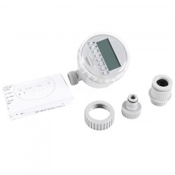 Watering Timer Solar Power Automatic Irrigation Watering Timer Programmable LCD Display Hose Timers Irrigation System 39.95 - 14