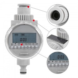 Watering Timer Solar Power Automatic Irrigation Watering Timer Programmable LCD Display Hose Timers Irrigation System 39.95 - 18