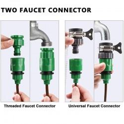 Sistema de Irrigação por Gotejamento, Rega Automática com Gotejadores Ajustáveis 19.5 - 5