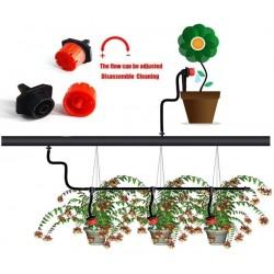 Sistema de Irrigação por Gotejamento, Rega Automática com Gotejadores Ajustáveis 19.5 - 6