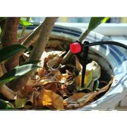 Sistema de Irrigação por Gotejamento, Rega Automática com Gotejadores Ajustáveis 19.5 - 12