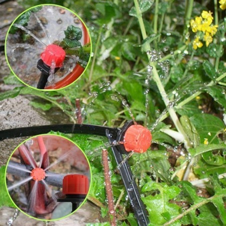 Drip Irrigation System, Automatic Watering with Adjustable Drippers 19.5 - 13