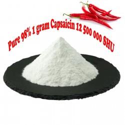 Αγνό 98% Capsaicin - καψαϊκίνη 12.500.000 SHU - 1 γραμμάριο 40 - 1