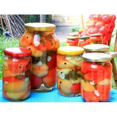 Sementes de Pimenta doce ''Novosadjanka'' 1.85 - 3