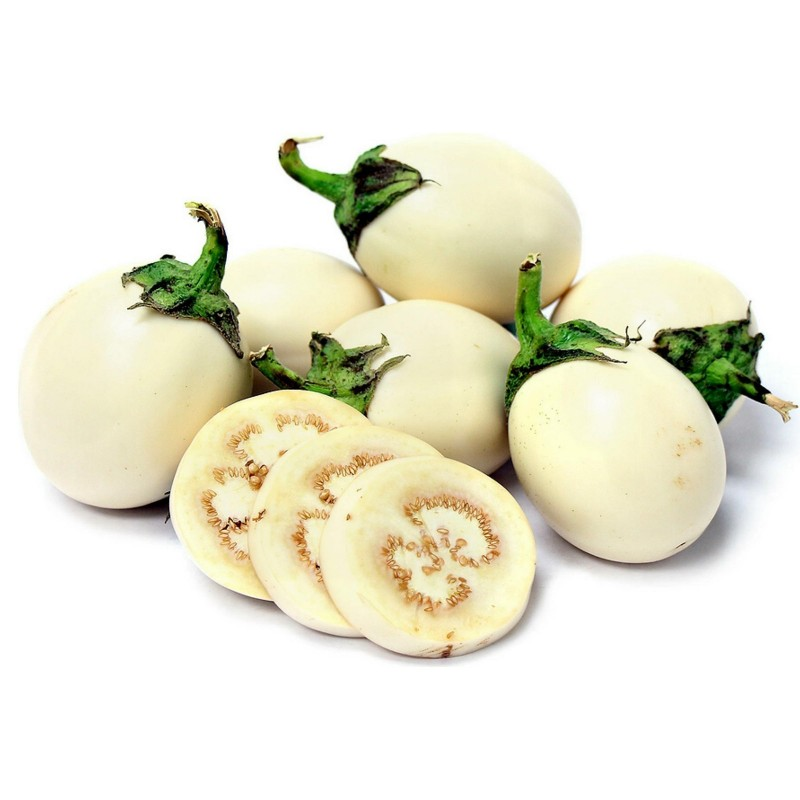 Eggplant Golden Eggs Seeds (Solanum melongena) 1.85 - 1
