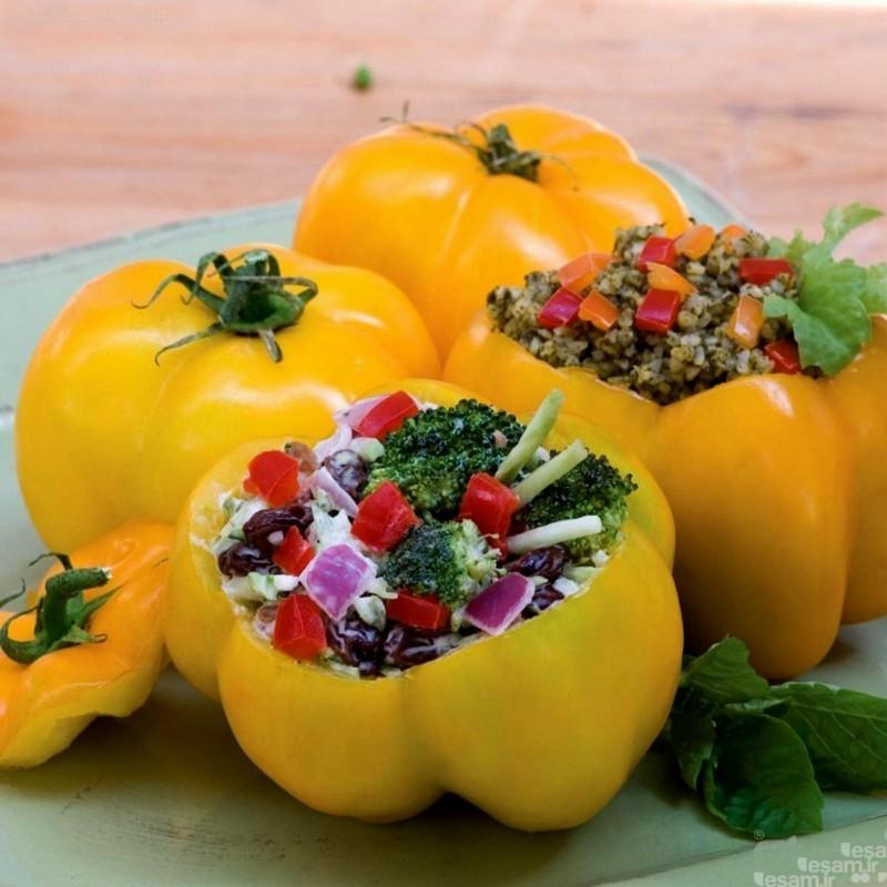 Yellow Stuffer Tomato Seeds  - 8