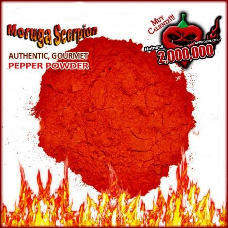 Trinidad moruga scorpion powder Worlds Hottest