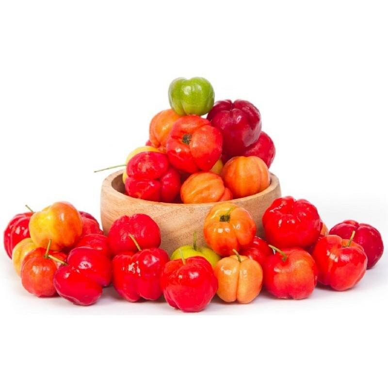 Барбадосская вишня, ацерола семена (Malpighia emarginata)  - 8