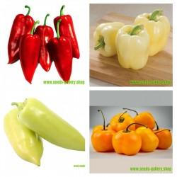 Serbisk söt paprika frön samling 1  - 1